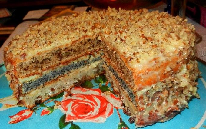 Рецепт торта простого в домашних условиях с пошагово простые